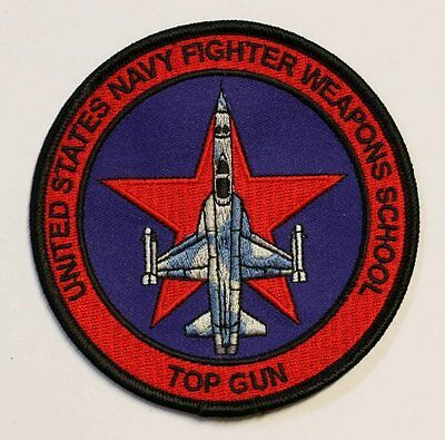Top Gun Aufnäher, US Navy Fighters Weapons School