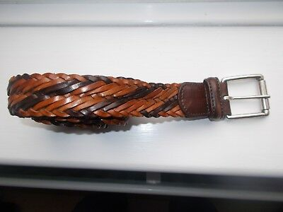 Andersons Belt Leather Weave 36