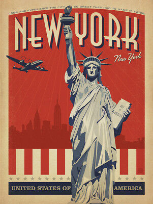 New York Travel Posters Nytl01 Print A3 A4 Buy 2 Get  1 Free