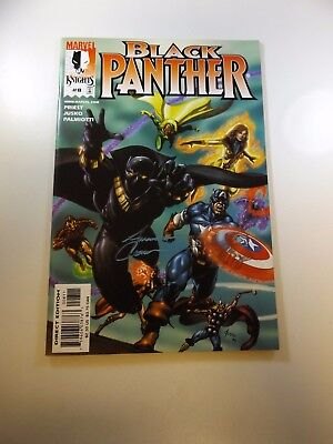 Black Panther #8 signed by Amanda Conner VF/NM condition