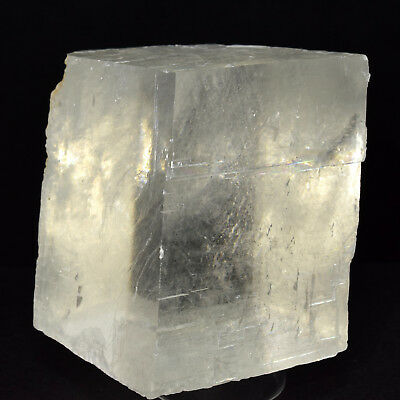 "2.75"" Optical Calcite Crystal Sparkling Natural Mineral Iceland Spar Stone China"