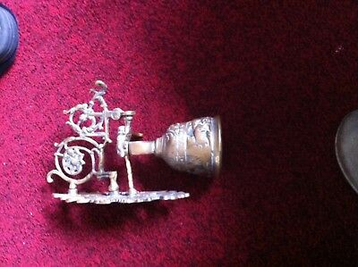 Solid Brass Hanging Bell Antique