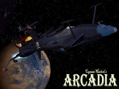 Aoshima Capitan Harlock Death Shadow Arcadia Romantic Series