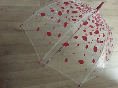 Fulton Lulu Guinness Raining Lips Umbrella - Currently Sold Out!