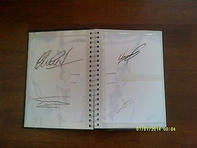 x19 Worlds Great Footballers Football Signed Autograph Cards Collection Job Lot
