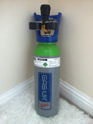 One CO2 Gas Bottle Cylinder New! Full! 5L 40~60 Bar