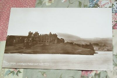 Postcard Showing View Of Linlithgow Palace & Loch Unposted.