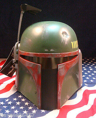Star Wars Jeremy Bulloch Signed Boba Fett Mask Don Post 1995 COA Limited 113/500