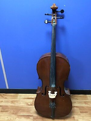 3/4 Cello with 2x Bows and carry bag COLLECTION ONLY