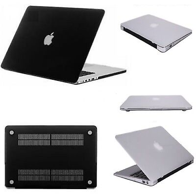 "11"" 13"" 15"" Inch Clear Hard Shell Case Cover Skin for Apple MacBook Air Pro UK"