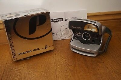 POLAROID P600 INSTANT CAMERA. Fully working with instructions in Original box