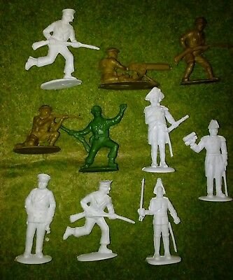 Vintage 80s Charbans Plastic Soldiers British Armed Forces Assortment (Must See)