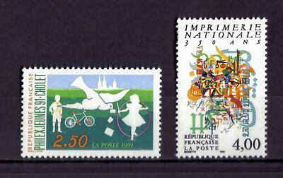 Lot De Timbres N° 2690/2691 Neuf**