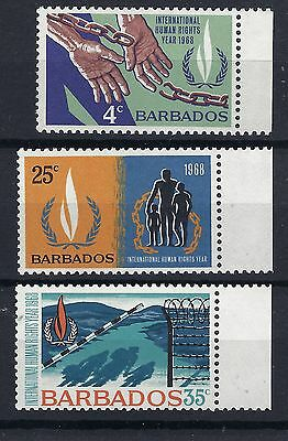 Barbados 1968 International Human Rights Posted Free To The Uk.