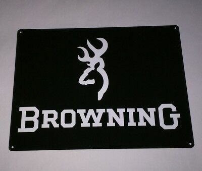 Browning Arms Company Firearms GUNS  advertising vintage metal sign 12 x 9 50012
