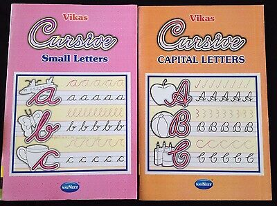 Cursive Alphabet hand writing upper lower case Copy writing Activity Book ages