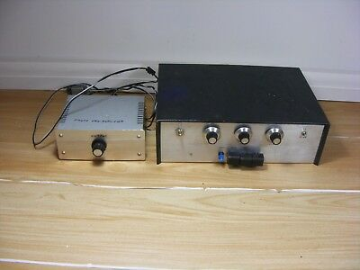 Vintage CB Radio Phono Pre Amplifier Output Frequency Tuning Communication