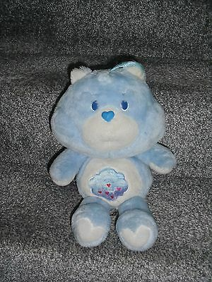 Vintage Care Bears Grumpy Bear 1980s Blue Thundercloud Symbol See Discription