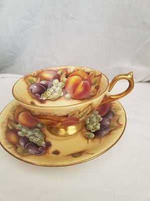 Aynsley Orchard Gold Cup and Saucer
