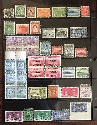 Newfoundland Stamp Selection of Mint
