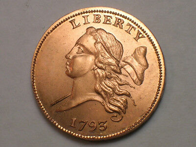 Gallery Mint Museum 1793 Liberty Cap Half Cent GMM