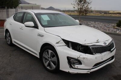 2016 Kia Optima Hybrid EX 2016 Kia Optima Hybrid EX Wrecked Repairable Loaded with Options Perfect Color!