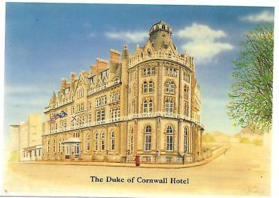 Duke of Cornwall Hotel - Millbay Road - Plymouth - Devon - Postcard