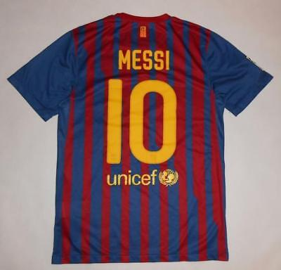 HOME SHIRT NIKE FC BARCELONA 2011-12 - MESSI #10 (S) Jersey Trikot Maillot