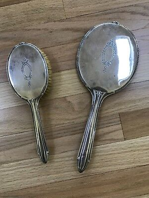 Sterling Silver mirror and brush Gorham