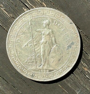 Great Britain trade dollar silver 1899 use in Asia China India