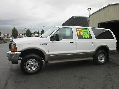 2001 Ford Excursion LIMITED 2001 FORD EXCURSION 4x4 LIMITED 7.3L DIESEL