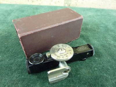 A nice vintage E. Leitz Wetzlar rangefinder good condition in box
