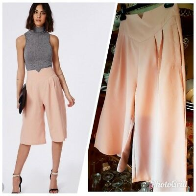 MISSGUIDEDHigh Waisted Culottes Dusky💟 BWT, size small!