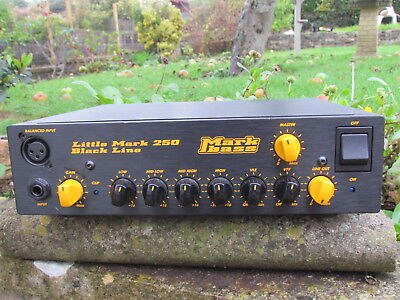 MARKBASS Little Mark 250 BASS GUITAR AMPLIFIER HEAD  wonderful !
