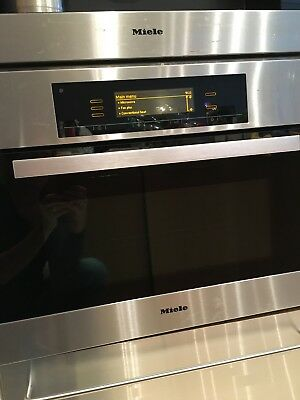 Miele built-in Microwave Combination Oven H5080 BMss