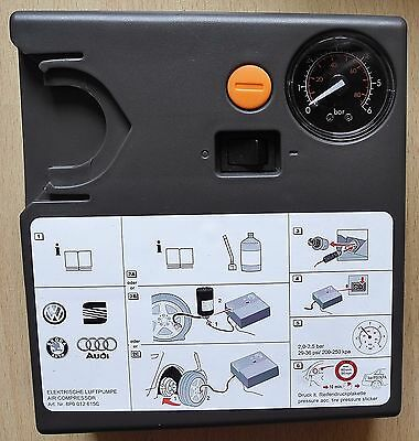 Audi A1 A3 A4 A5 A6 Q3 Q5 Tt Vw Polo Golf Passat Genuine Tyre Mobility Pump New