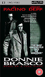 Donnie Brasco [UMD Mini for PSP], Good DVD, Anne Heche, James Russo, Bruno Kirby
