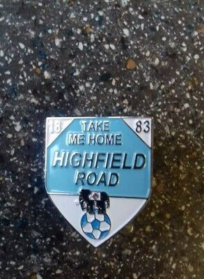 Coventry City FC Highfield Road Badge