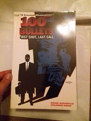 100 Bullets Graphic Novel Volume 1 Vertigo First Shot Last Call