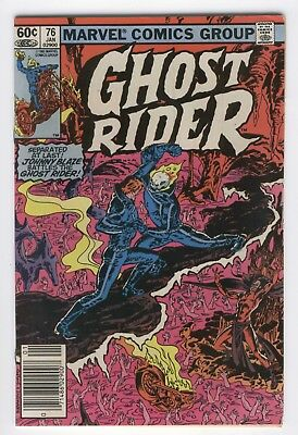 Ghost Rider #76 Johnny Blaze Battles the Ghost Rider! News Stand Variant FN