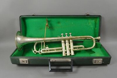 Trompete Julius Keilwerth Toneking DeLuxe Messing inkl. Notenhalter Koffer ~1970