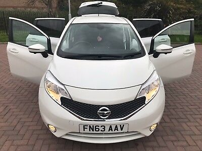 2013 Nissan Note Acenta Premium Safety, S/s Full Service £20 Year Tax, Low Miles