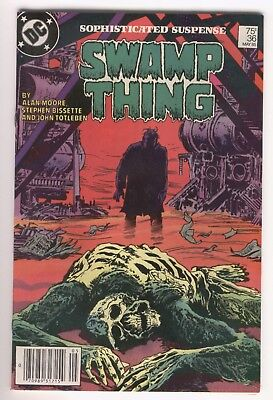 Swamp Thing #36 Alan Moore News Stand Variant VF