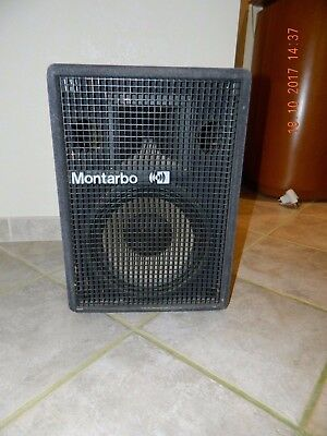 cassa professionale Montarbo 210 usata funzionante non jbl, rcf twitter, woofer