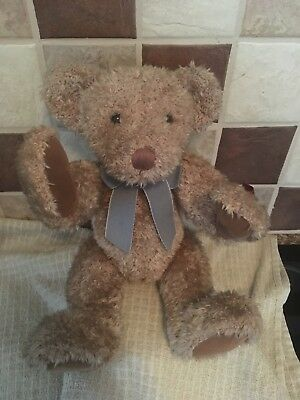 RUSS VINTAGE COLLECTION EDITION APPERLEY Retired JOINTED TEDDY BEAR - 13 Inch