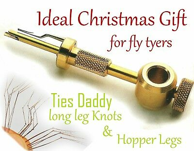 The Daddy Tool (Knot Tyer), Fly Tying Daddy Long Legs, Pheasant Tail Fibres.