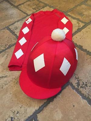 SXC Eco Cross Country Colour XC Diamonds Eventing Equestrian Hat Silk Cover