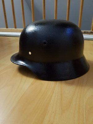 Original coque casque allemand M40. German helmet M40.Deutscher Helm M40