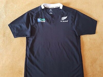 Camiseta Rugby All Blacks Shirt Maglia Trikot