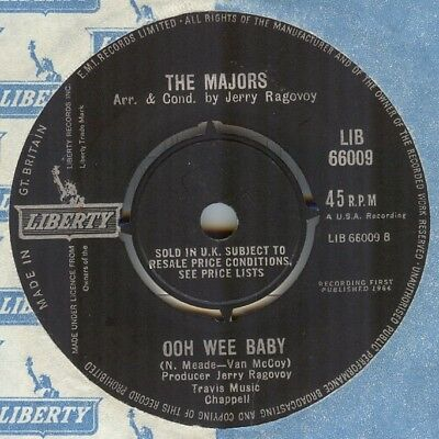 The Majors**ooh Wee Baby**soul**mod**dancer**listen To It